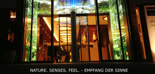 NATURE. SENSES. FEEL. - Empfang der Sinne