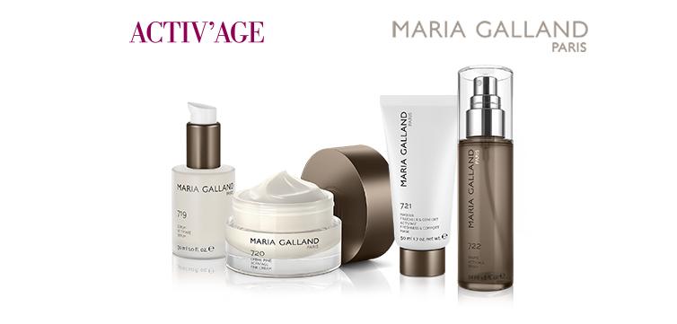 Aktivierendes Schönheitsprogramm mit ACTIV' AGE