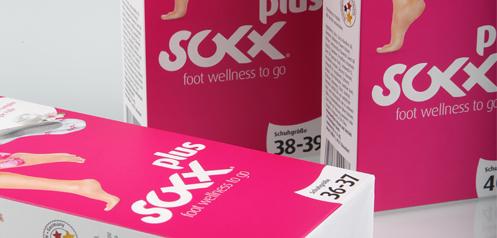 soxxplus - foot wellness to go