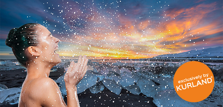 SnowBliss: Die Schneefalldusche mit Wirbelsturm-Effekt von Kurland