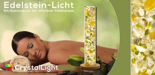 Crystal Light Free - Entspannung mit natürlicher Farbtherapie