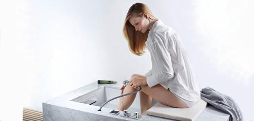 Dornbracht Footbath: Neue Szenarien und Komfortfunktionen individualisieren das Bad
